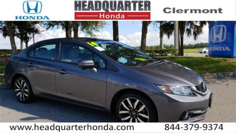 Certified Pre-Owned 2014 Honda Civic EX-L