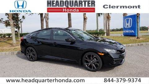New 2019 Honda Civic 4DR Sport