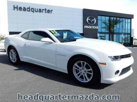 Pre-Owned 2015 Chevrolet Camaro 1LS