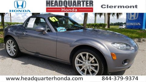 Pre-Owned 2007 Mazda Miata PRHT Grand Touring