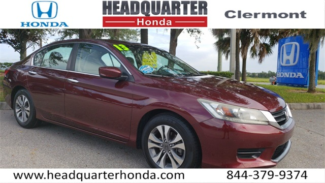 Pre Owned 2013 Honda Accord LX