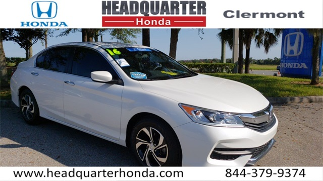 Wonderful Certified Pre Owned 2016 Honda Accord LX
