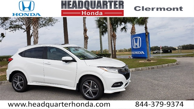 Honda Accord Awd >> New 2019 Honda Hr V Awd Touring Awd 4d Sport Utility