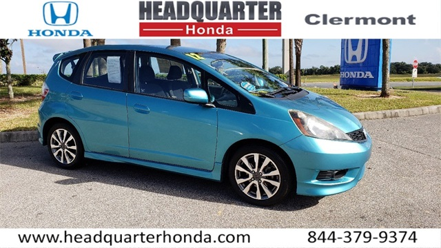 Used 2012 Honda Fit Sport 4d Hatchback Near Orlando Ph21717