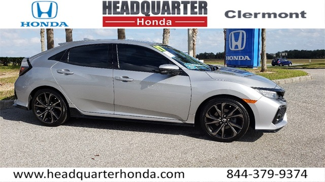 Certified Pre-Owned 2017 Honda Civic Sport Touring
